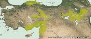 Anatolian in-migrations, circa 3000-2000 BCE